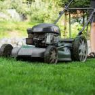 Mowing the lawns in open shoes is not safe. Photo: Getty Images