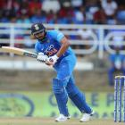 Rohit Sharma scored a century to help India to victory over Australia. Photo: Getty