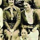 Grace Low (right), pictured sitting beside her mother, died in the Seacliff Mental Hospital fire....