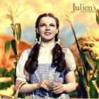Judy Garland as Dorothy in 'The Wizard of Oz' features on on the cover of a catalogue from Julien...