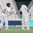 Ross Taylor (right) has backed Kane Williamson to remain as Black Caps captain. Photo: Getty Images