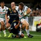 Nathan Harris (with ball) will miss at least the start of the Super Rugby season. Photo: Getty...