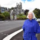 Liz Angelo, of City Rise Up, is worried new brightly coloured pedestrian crossings like the one...