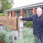 Waimate Mayor Craig Rowley outside the Waimate District Council building, which is to be refitted...