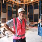 Standing in the new recording studio at the University of Otago is the head of the School of...