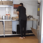 On Tuesday night, Dunedin man Simon Harrison posted a photo on social media of the shoeless cook,...