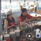 Two individuals were caught on CCTV stealing a tip-jar from the New Brighton restaurant Salt On...