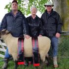 Doris and Trevor McCall, of Charlton, are handing over their Myola South Suffolk stud to their...