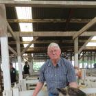 New Zealand Sheep Breeders' Association chairman and sheep breeder Jim Berney, of Owaka, sold...