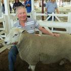 Paul Gardner, of Kallara Texel and Romney studs, Ashburton, came down to the Gore ram fair with...