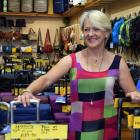 """Trents Leather Goods owner Sue Brown says it's time for a """"new adventure"""". PHOTO: SHAWN MCAVINUE"""