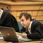 Auckland-based defence lawyers Jonathan Hudson, left and Shane Tait are representing the accused...