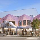 An artist's impression of the redeveloped O'Connell's shopping mall in Queenstown. Image: Supplied