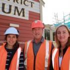Local Origin Consultants' UK-registered architect Kirsten Gibbs, left, with museum director David...