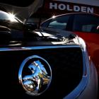 Holden cars are pictured at a dealership located in Perth. General Motors has announced it will...