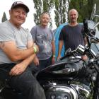 Brothers (from left) Brian and Mike Alexander, of Timaru, and Terry Alexander, of Ashburton,...