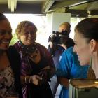 Prime Minister Jacinda Ardern at an event at the University of the South Pacific in Suva. Photo:...