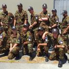 The 15 Ashburton cadets and one civlian staff who attended the Exercise Cadet 2020 event. (Photo...