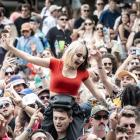The crowd at Christchurch's Electric Avenue festival. Photo: Nick Paulsen