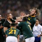 Is the All Blacks vs South Africa rivalry in jeopardy? Photo: Getty Images