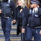 Caroline Flack seen at Highbury Corner Magistrates Court, on December 23, 2019 in London. Photo:...