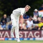 Kyle Jamieson backed up his impressive debut with a maiden five-wicket haul on the first day on...
