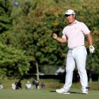 Joohyung Kim still sits atop the leaderboard with Australian Lucas Herbert. Photo: Getty Images