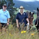 Life is back on track for Berwick man Graeme Irvine, after his wife Jo gave him a kidney. PHOTO:...