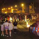 Police are encouraging students to look after each other as Orientation Week continues. File...