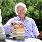 Emeritus Prof Kevin Clements at his Otago Peninsula home yesterday.   PHOTO: PETER MCINTOSH