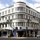 The woman admitted her part in an aggravated robbery of the Law Courts Hotel in Dunedin last year.