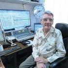 Lawrence McCraw in the Puketapu Radio studio. Photo: supplied