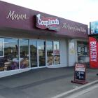 Coupland's Bakeries in Oamaru, which was allegedly targeted by thieves yesterday morning. PHOTO:...