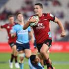 Will Jordan scores for the Crusaders. Photo: Getty Images via NZ Herald