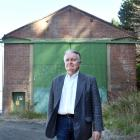 Bill Southworth, of Dunedin, wants to see the heritage recognised at the old Sims Engineering...