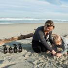 Becks Johnson, playing with son Charlie, has launched her own line of home and wellness essential...