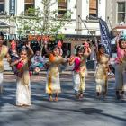 The Dunedin Fringe Festival is partnering with the Dunedin Multi-Ethnic Council for the street...