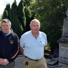 New Zealand Remembrance Army members Peter Trevathan (left) and Lox Kellas are set to restore a...