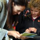 Prime Minister Jacinda Ardern and Lucia Boys share stories about their possum hunting adventures...
