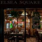 An empty restaurant in the Manhattan borough of New York City. Photo: Reuters