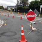 There is no entry from Innes Rd onto Nancy Ave in Mairehau. Photo: Geoff Sloan
