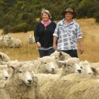 Johnny Bell and his wife Tanya, at home on Shag Valley Station, are loving life with his new...