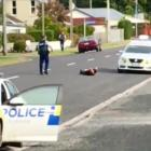 A man was arrested yesterday after a chase around much of Otago. He had allegedly pointed a gun...