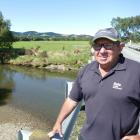 Pomahaka Water Care Group best practice team co-ordinator Bryce McKenzie casts his eye over the...