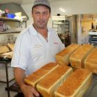 Baker Chris Blanchfield has increased bread production. PHOTO: PAUL MCBRIDE