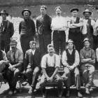 Employees at  the Wingatui Brick and Tile factory. Otago Witness, 23.3.1920.