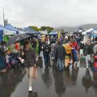 The Otago Farmers Market will go ahead this weekend with some new measures in place. Photo:...