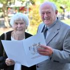 New New Zealand citizen Donald Harry and his wife, Anne, after a citizenship ceremony at the...