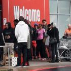People rushed to shops in Dunedin yesterday after the government announced an increased alert...