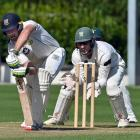 Otago top order batsmanDean Foxcroft is all defence while Central Districts wicketkeeper Dane...